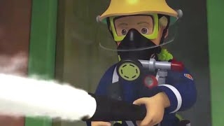 Taming a Store Fire! ⭐️ Fireman Sam US | Best Rescue Compilation 🔥Kids Movie