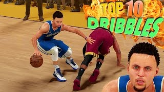 NBA 2K16 Top 10 Crossovers & Ankle Breaker Dribble Moves of the Week #4