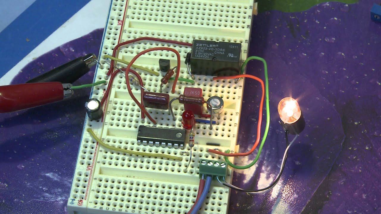 Cd4060 Timer Circuit