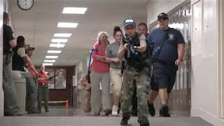 Harrisonburg Police  Active Shooter Training Include Realistic Scenes