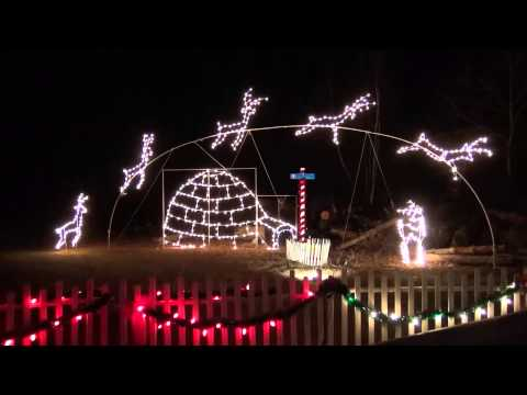 Westford, MA: 2012 Christmas Lights Tractor Ride @ Nashoba Valley Ski Area