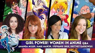 Girl Power! Women in Anime Q&A