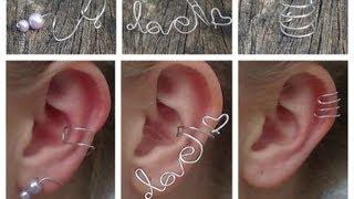 3 DELICATE EAR CUFFS DIY ♡