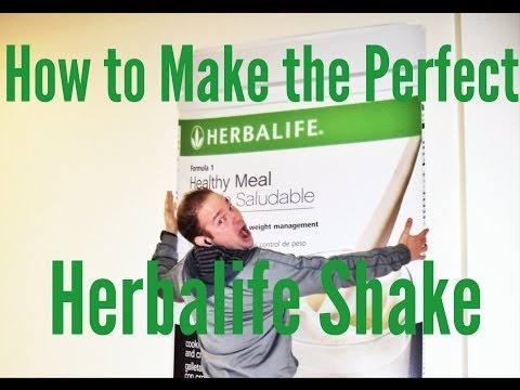 How to Make the Perfect Herbalife Shake