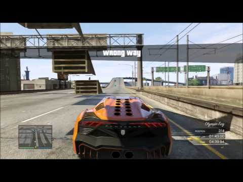 Grand Theft Auto V Online: Custom Race - Rampzilla #3pic video