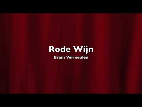 Bram Vermeulen - Rode Wijn (LIVE)