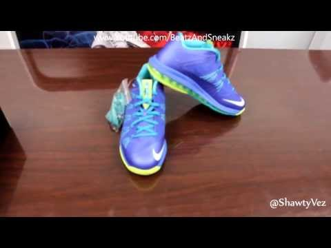 Nike LeBron Air Max X Low Sprite Review