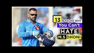 download lagu 13 Reasons Why You Can't Hate M.s Dhoni Best gratis