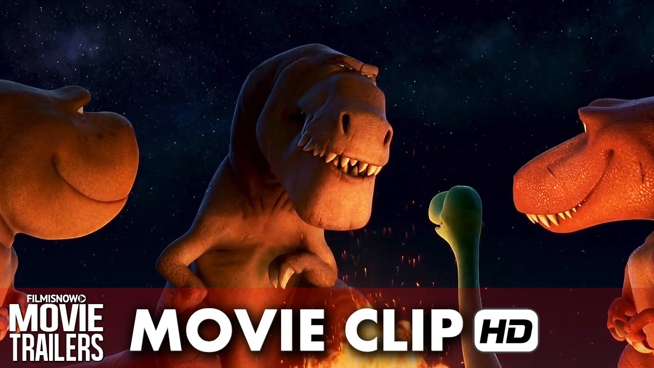 "The Good Dinosaur Movie Clip ""Butch's Scar"" (2015) HD"