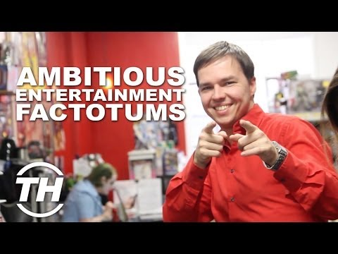 Ambitious Entertainment Factotums - Jack of All Trades Sean Ward Shared His Career Story