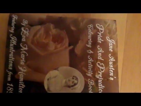 Jane Austen's Pride And Prejudice Colouring & Activity Book