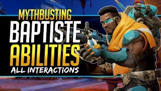Overwatch Mythbusters - Baptiste Abilities & Interactions