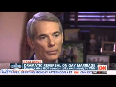 Rob Portman speaks with CNN's Dana Bash about his change on gay marriage