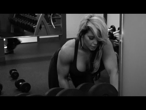 Kaitlyn's Passionate And Revealing Workout Video video