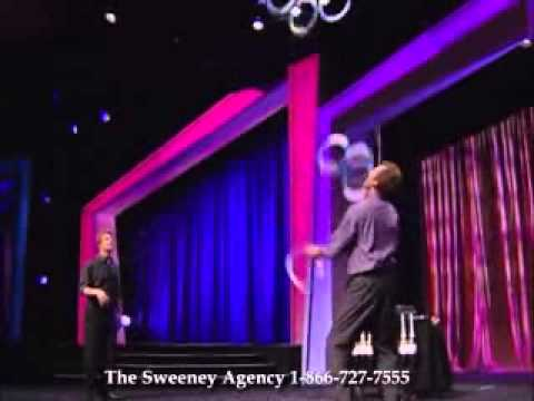 The Passing Zone - Juggling Comedy Duo, Speak on Teamwork