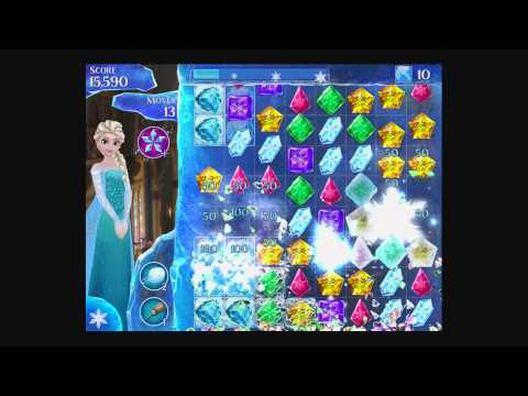 Disney Frozen Free Fall - Level 44 [Gameplay Walkthrough]