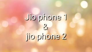 Jio phone 3 specifications, price and released date in hindi