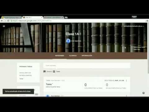Demostración e Introducción a Google Classroom en Español