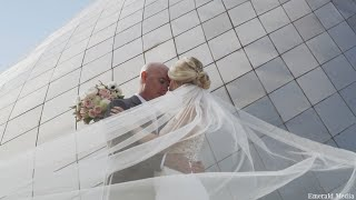 Best Cake Cutting Of All Time | Heartwarming Museum of Glass Wedding Video