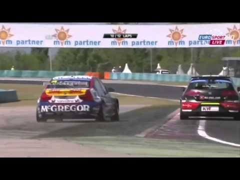 WTCC Hungaroring race highlights: Real touringcar racing with Tom Coronel 2013