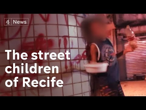 Recife, Brazil: Where Street Children Sell Sex To Survive | Channel 4 News video
