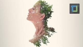 Double exposure effect | photoshop tutorial