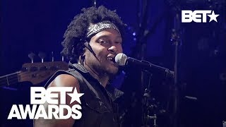 D'Angelo Performing 'Untitled' & 'Sugah Daddy' Medley At 2012 BET Awards