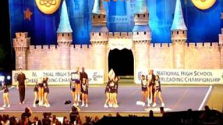Kamehameha Cheer 1st Place in 2010 National Competition in Orlando, Florida