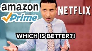 NEW AMAZING PRIME PRICING! ► Amazon Prime Video vs Netflix