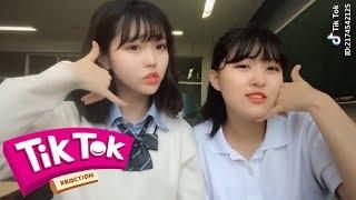 Những Bạn Nữ Sinh Nhật Bản xài Tik Tok   Tik Tok Reactio♪