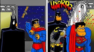NEW FUNNY SUPERHERO COMICS - Marvel & DC - 2 .