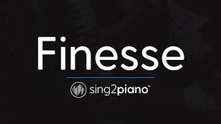 Download Lagu Finesse (Piano Karaoke Instrumental) Bruno Mars Gratis STAFABAND