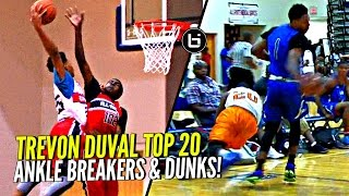 Trevon Duval TOP 20 Ankle Breakers & Dunks!! 20 Reasons Why Duke Fans Should Be HYPE!