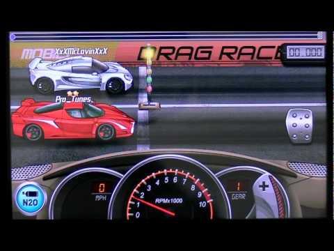 Drag Racing 1st gear launch tutorial Ferrari FXX 7.584s
