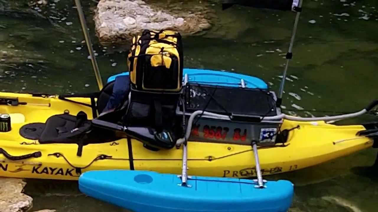 Ultimate Trolling Motor Kayak 2 Youtube