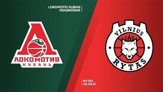 Локомотив-Кубань : Летувос Ритас