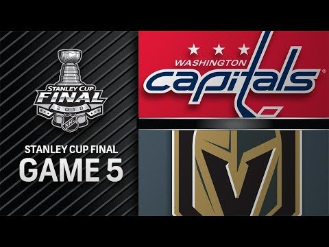 Washington Capitals vs Vegas Golden Knights – Jun.07, 2018 | Final | Game 5 | Stanley Cup 2018.Обзор