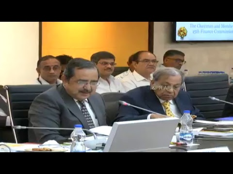 "15th Finance Commision Meeting With Hon""ble Chief Minister of Andhra Pradesh Live"