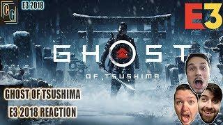Ghost of Tsushima E3 2018 Gameplay Reaction