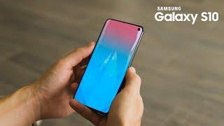 Samsung Galaxy S10 - 3D Sonic Sensor Unveiled