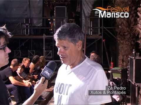 Entrevista Zé Pedro Xutos & Pontapés - FESTIVAL DO MARISCO 2014