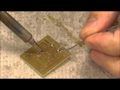 Soldering a PCB