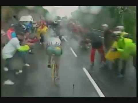 Marco Pantani - Tour de France 1998 - Galibier Les deux Alpes English Part 2/2