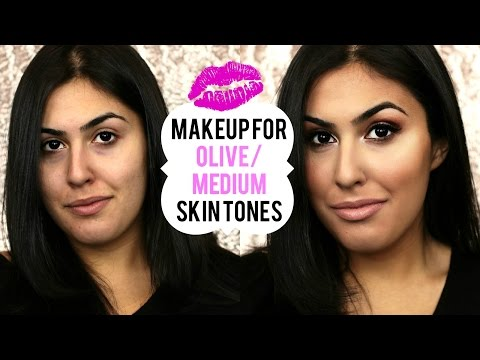 Makeup Tutorial FOR OLIVE/MEDIUM SKIN TONES ♡ Makeup On A Client | JamiePaigeBeauty
