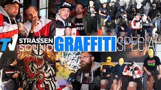 GRAFFITI SPECIAL - TV Strassensound mit MC Bogy: SHEK, BAS2, AKTE one, BEE LOW, TMR, Damagers, SPYDA