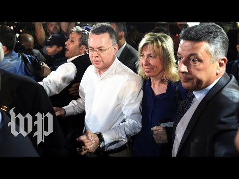 Pastor Andrew Brunson meets with President Trump