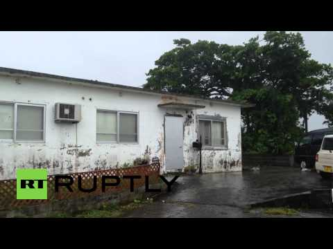 Japan: Powerful Typhoon Neoguri batters Okinawa