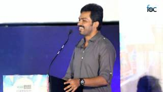 All In All Alaguraja - Karthi at All in All Azhagu Raja Audio Launch