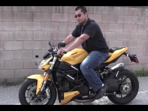 My First Time Riding DUCATI StreetFighter 848 Naked Italian Motorcycle VLOG