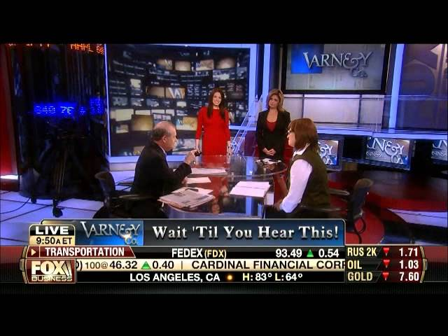 Carol Roth Wants to Be in Mitt Romney's Binders of Women Stuart Varney Fox